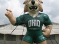 ohio university custom inflatable bobcat mascot