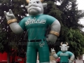 south florida custom inflatable bull mascot