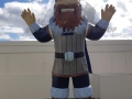 grayson college custom inflatable vikings mascot