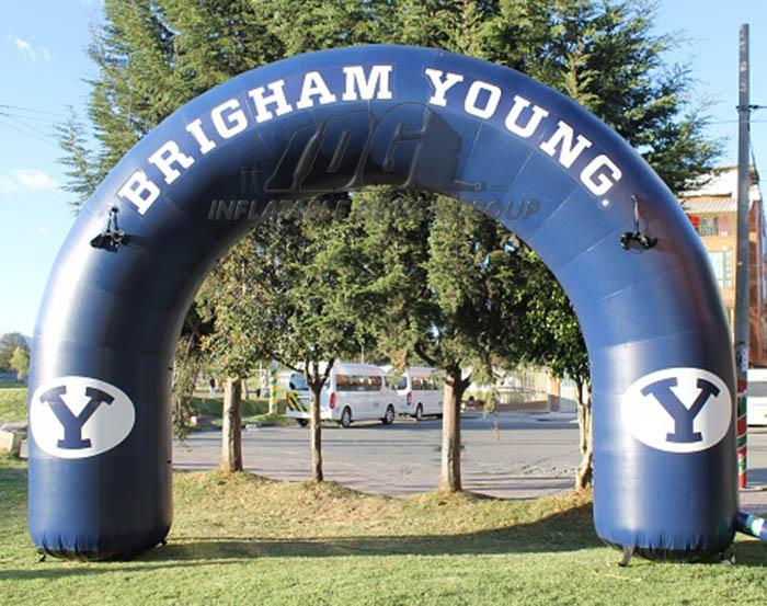 BYU Custom Inflatable Arch