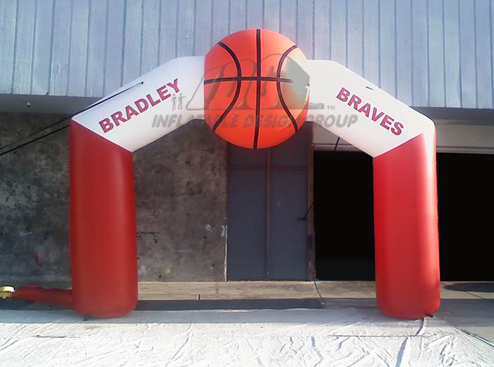 Bradley Custom Inflatable Arch