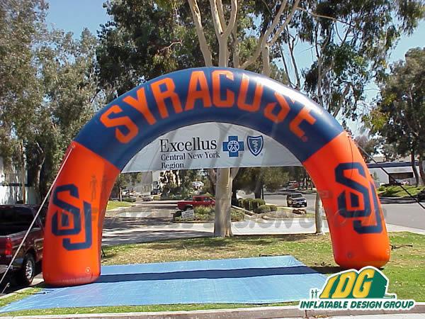 Syracuse Custom Inflatable Arch