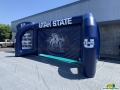 Utah State Custom Inflatable Football Challenge