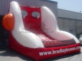 bradley university custom inflatable free throw contest