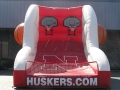nebraska custom inflatable free throw contest