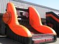 oregon state custom inflatable free throw contest