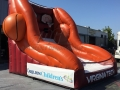 virginia tech custom inflatable free throw contest