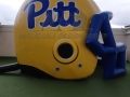 pitt panthers custom inflatable helmet
