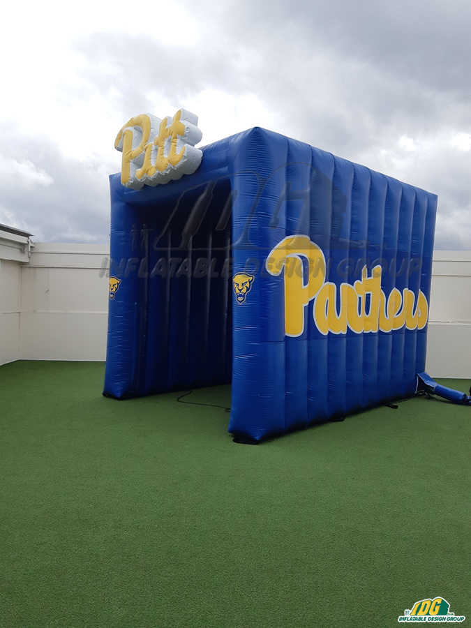 pitt panthers custom inflatable entryway