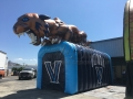 Inflatable-Villanova-Wildcat-Tunnel
