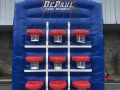 DePaul Inflatable Tic Tac Toe