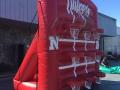 Nebraska Inflatable Tic Tac Toe