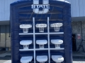 Utah State Inflatable Tic Tac Toe Game