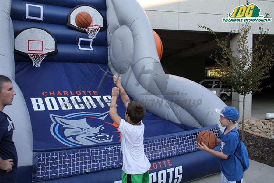 Interactive Basketball Games