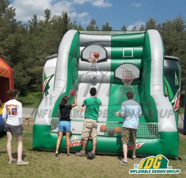 inflatable interactive Basketball game