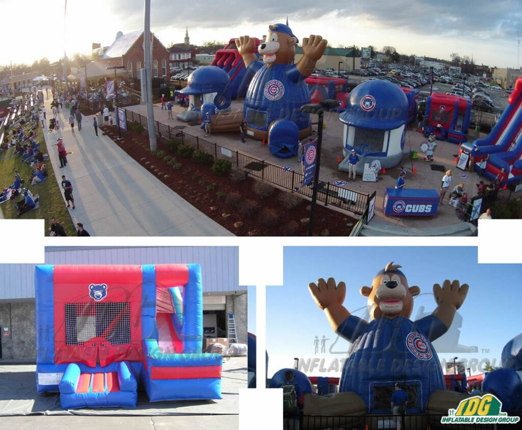 South Bend Cubs Inflatable Fan Zone
