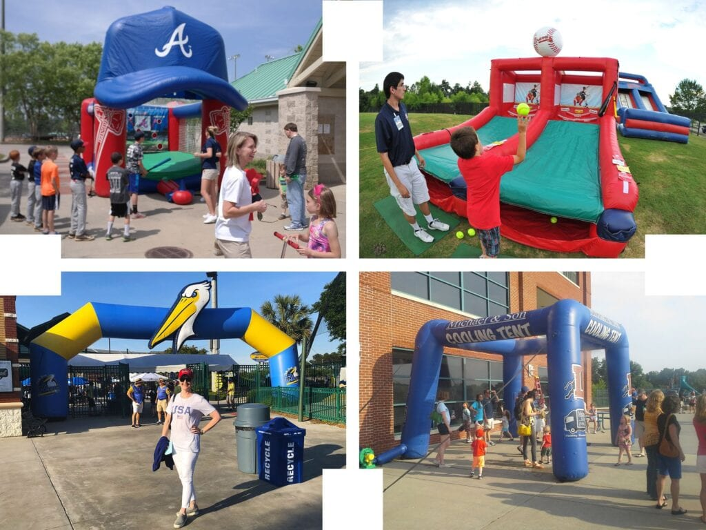 Inflatable Design Group Custom Baseball Inflatables