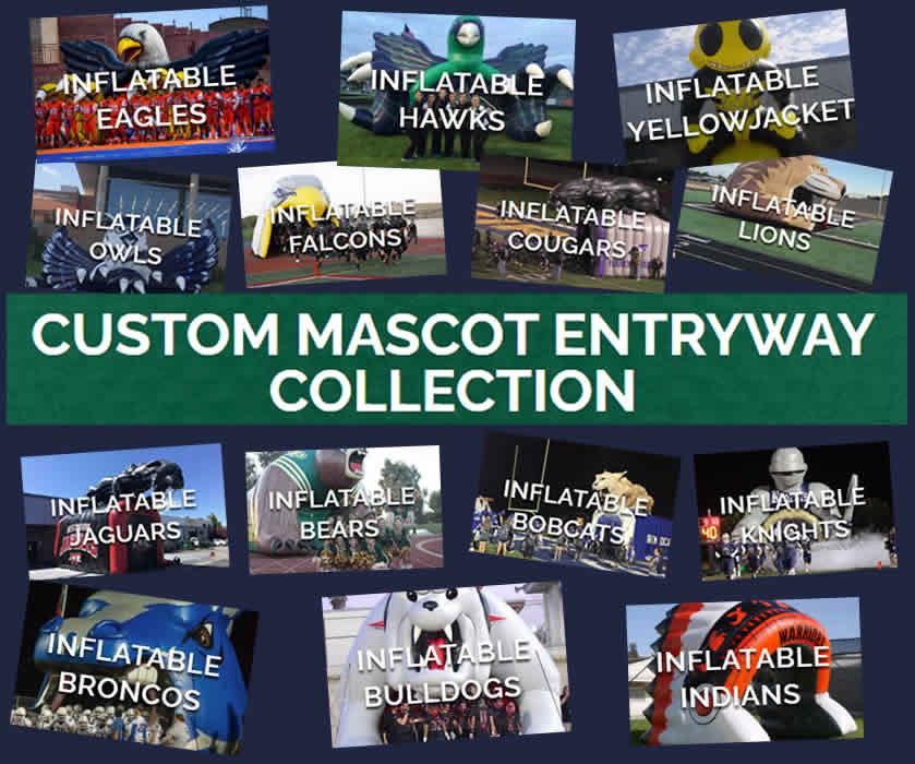Inflatable Mascot Entryways