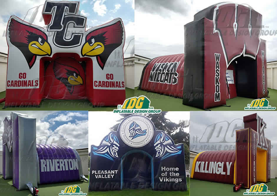 Inflatable Entryways Bring Back School Spirit back to life!
