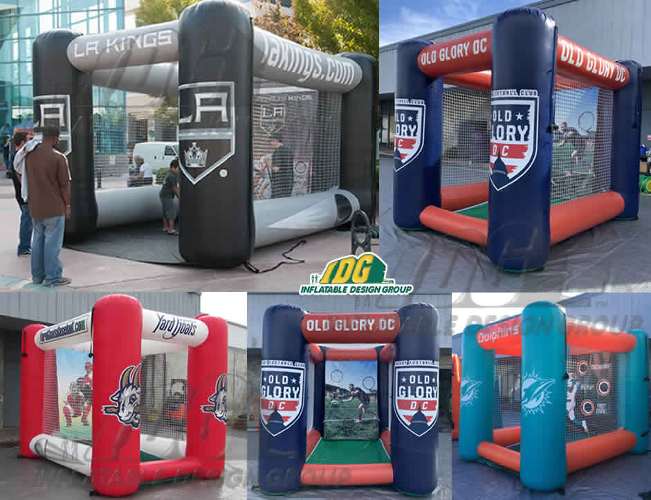Inflatable Sports Pen & Flat top Games