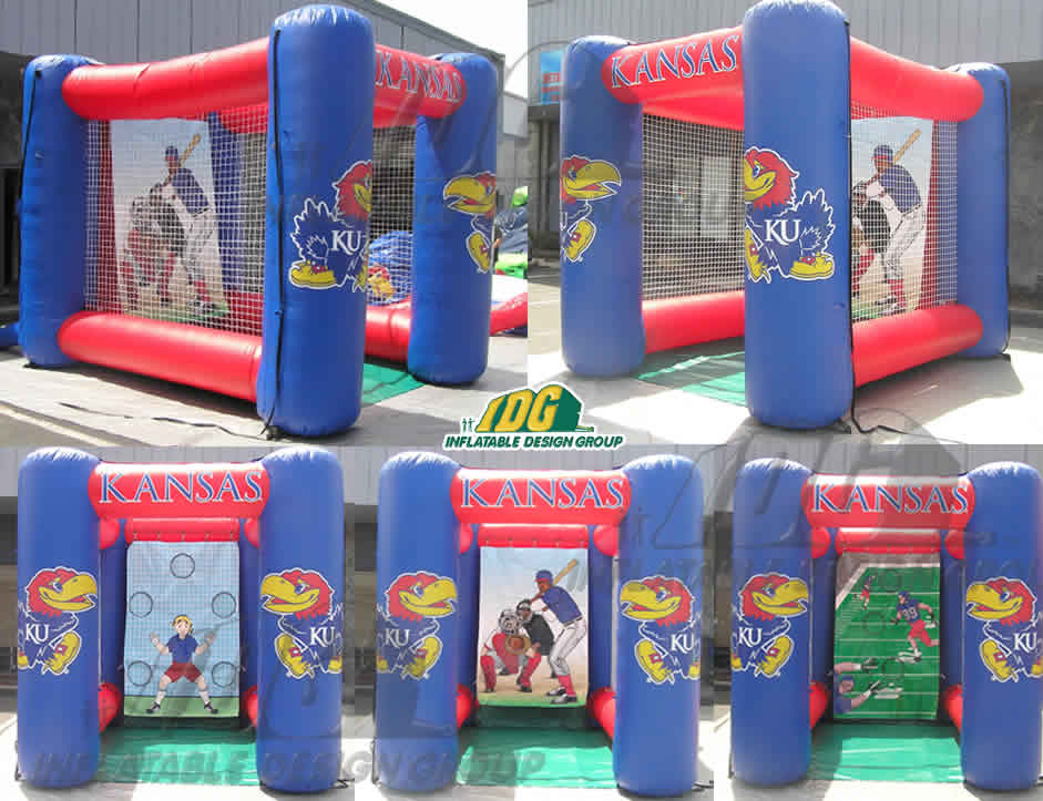 Inflatable Sports Pen Flat top Games