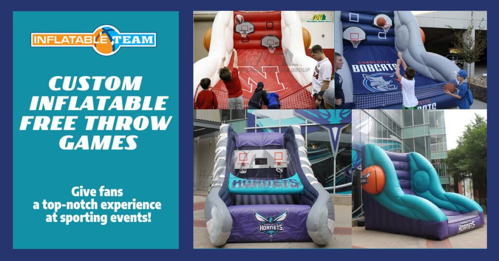 Inflatable Free Throw Games