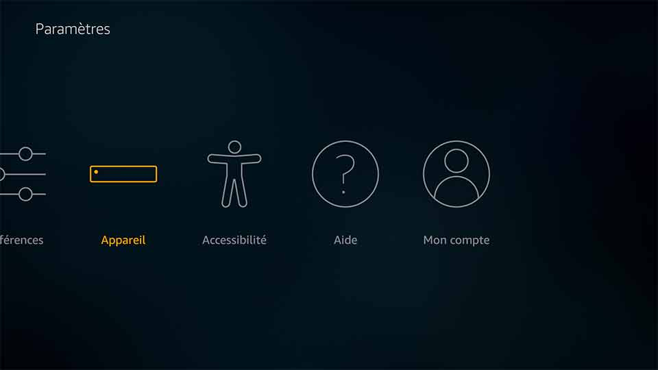 Amazon Fire TV et Stick.
