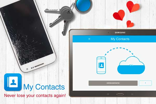 My Contacts - Phonebook Backup & Transfer App