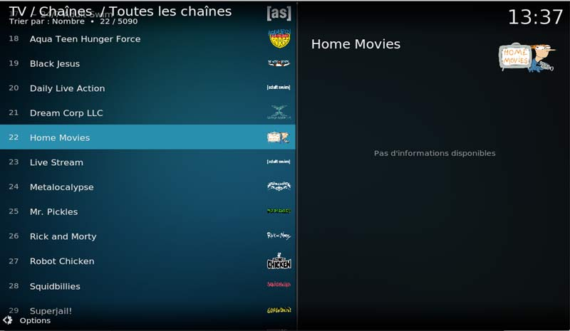tv pvr kodi