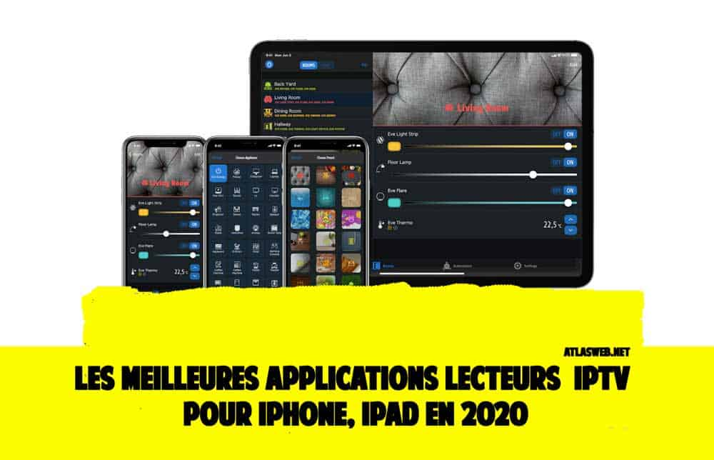 applications IPTV pour iPhone