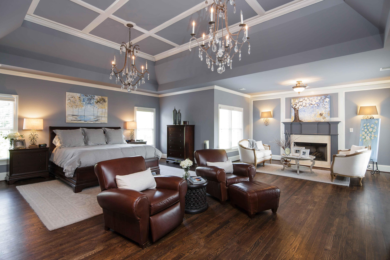 Periwinkle Master Bedroom
