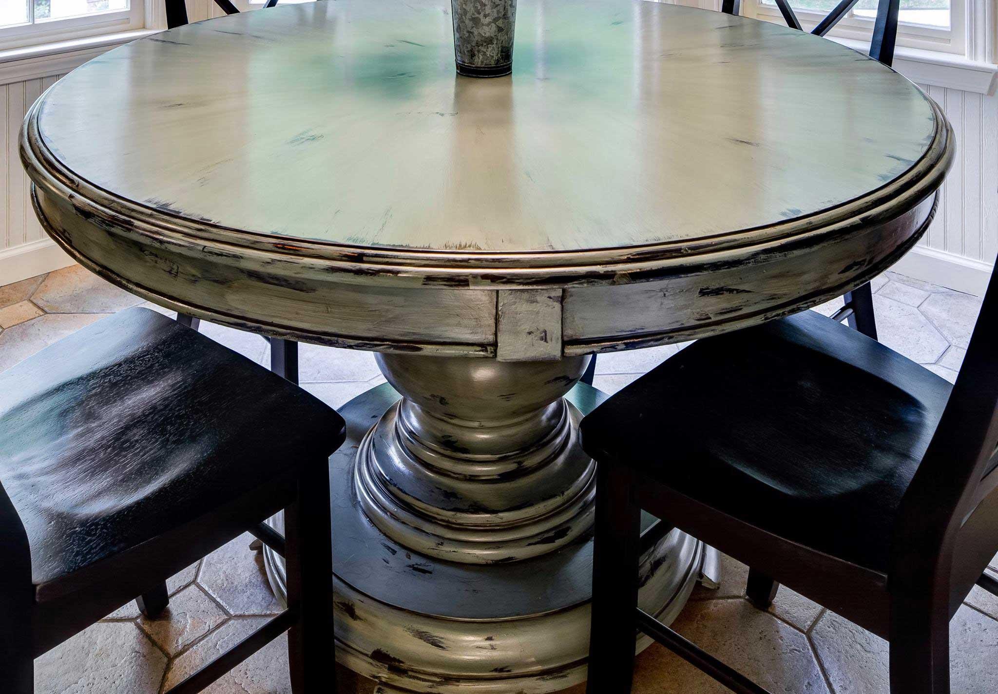 Kitchen Table Refinishing
