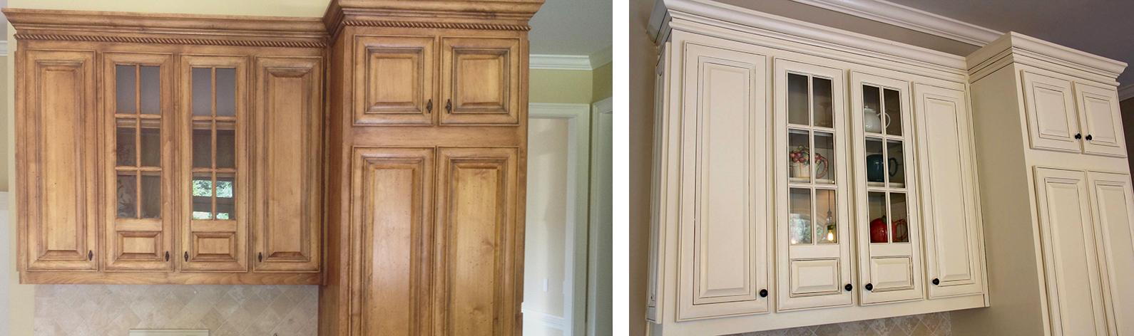 Cream Kitchen Cabinets