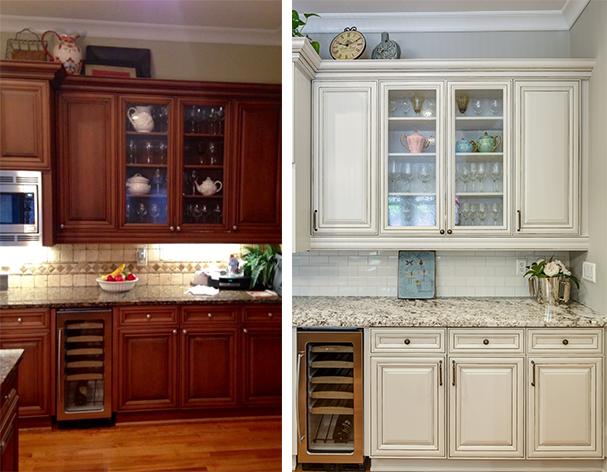 Kitchen Cabinets White Wash