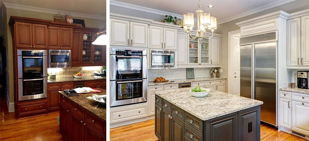 Kitchen Cabinets and Island