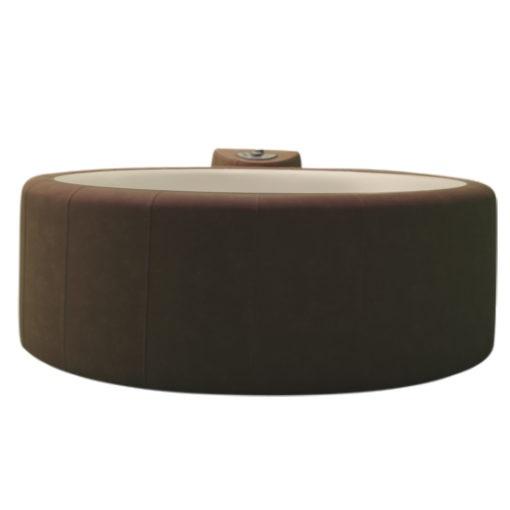 mocha portable hot tub