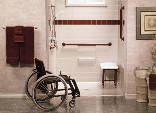 6 Basics of Handicap Showers