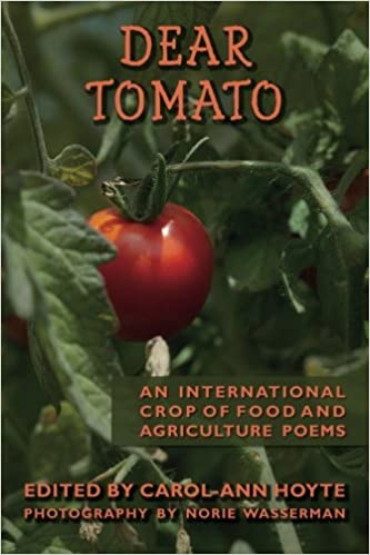 Book Cover for poetry anthology Dear Tomato