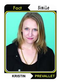 Kristin Prevallet Poetry Trading Card