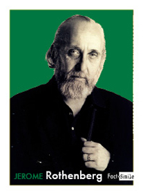 Jerome Rothenberg Poetry Trading Card