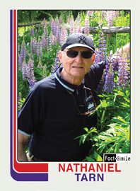 Nathaniel Tarn Poetry Trading Card