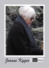 Joanne Kyger Poetry Trading Card