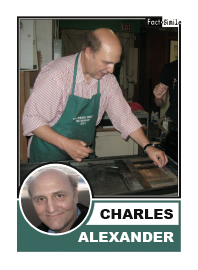 Charles Alexander Poetry Trading Card