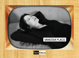 Vanessa Place Poetry Trading Card
