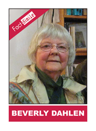 Beverly Dahlen Poetry Trading Card
