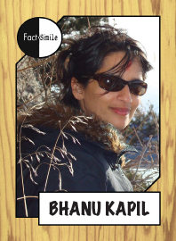 Bhanu Kapil Poetry Trading Card
