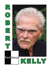 Robert Kelly Poetry Trading Card