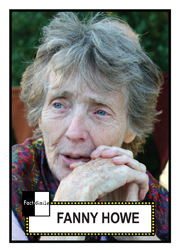 Fanny Howe Poetry Trading Card