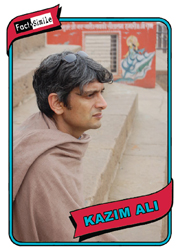 Kazim Ali Poetry Trading Card