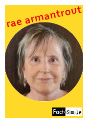 Rae Armantrout Poetry Trading Card